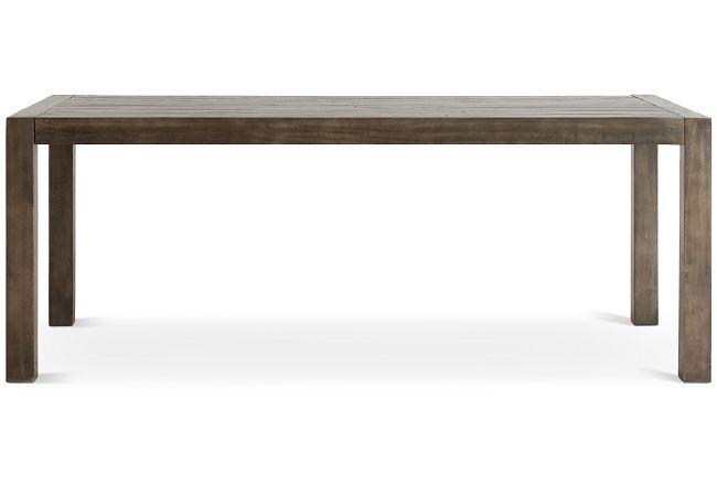 Seattle Gray Rectangular Table