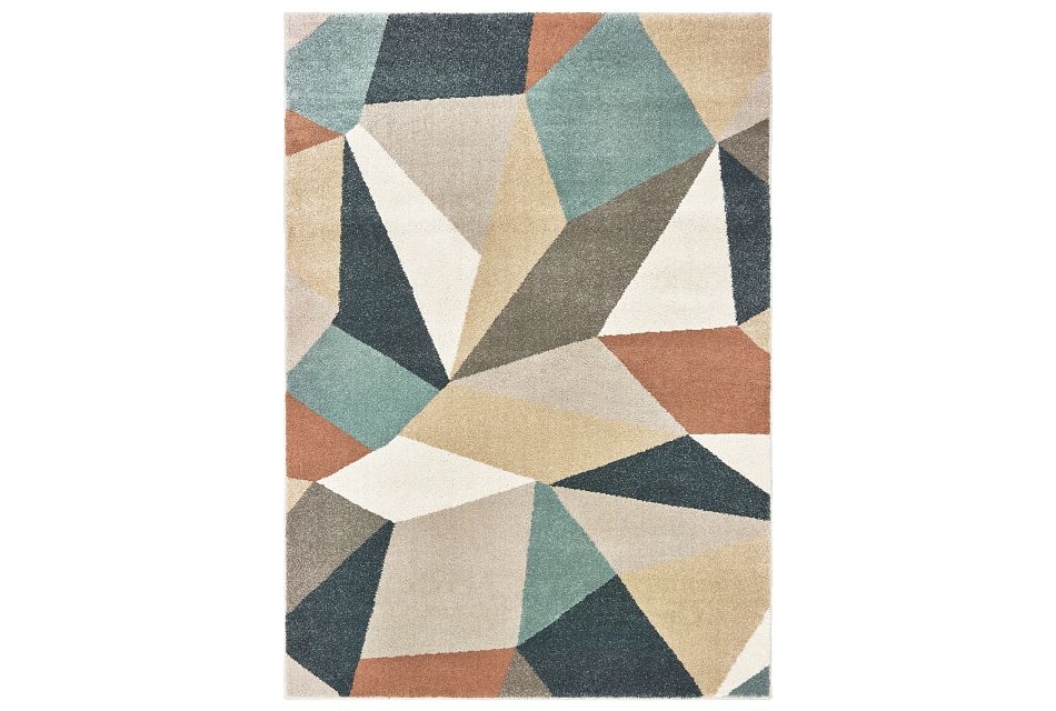 Carson Multicolored 5x8 Area Rug