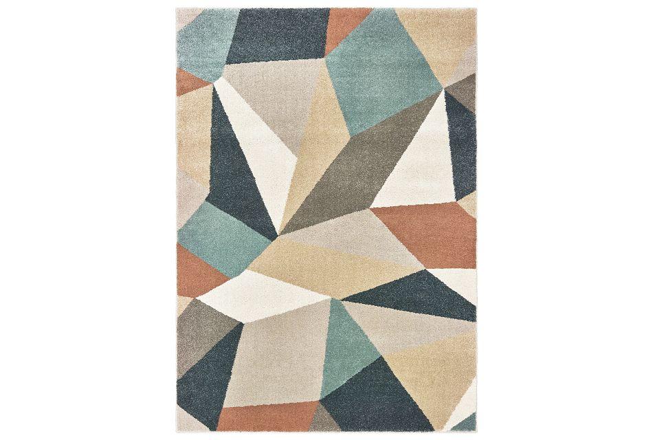 Carson Multicolored 5x8 Area Rug
