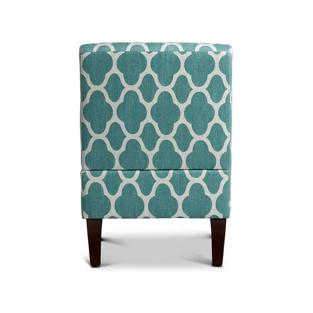 Comet Light Blue Fabric Accent Chair (3)