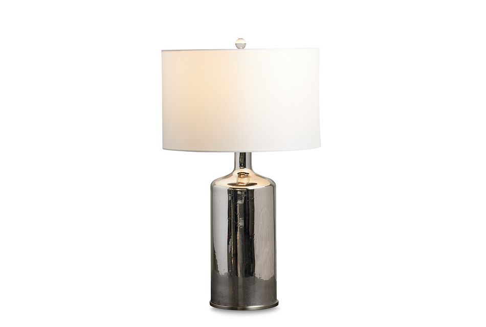 Frost Silver Table Lamp