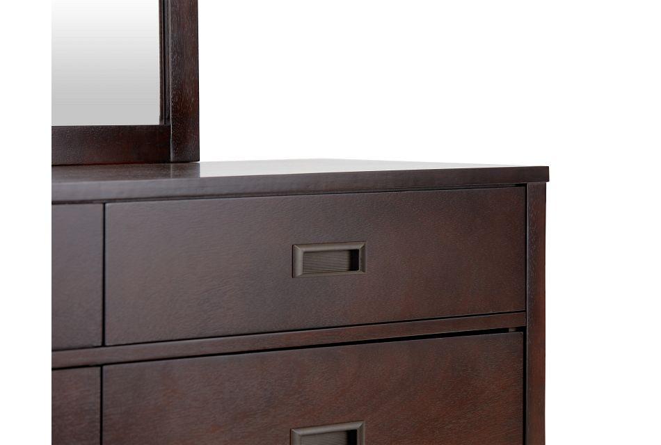 Chatham Dark Tone Dresser & Mirror