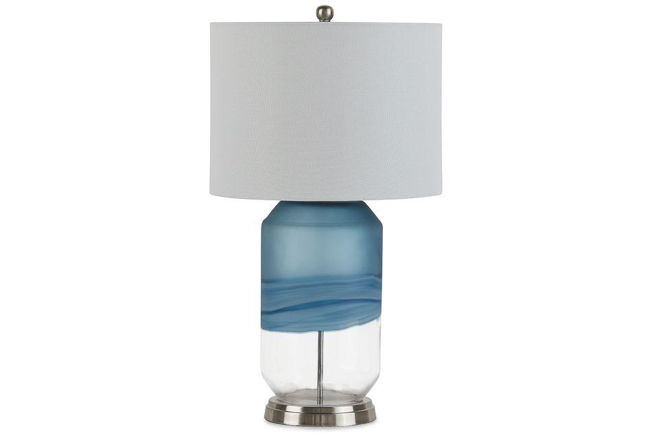 Aldo Blue  Table Lamp,
