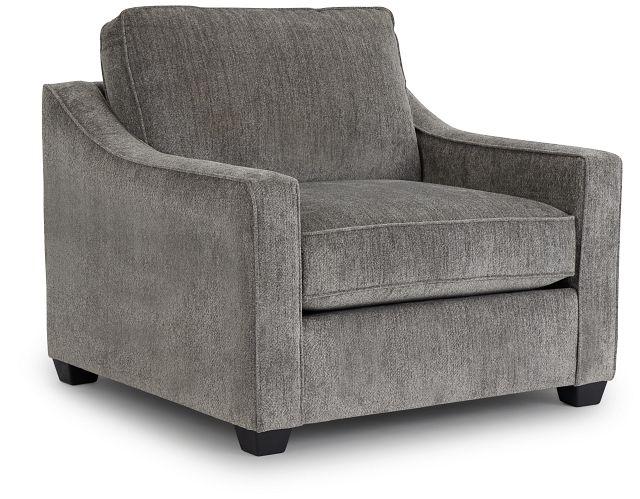 Bianca Gray Fabric Chair (1)