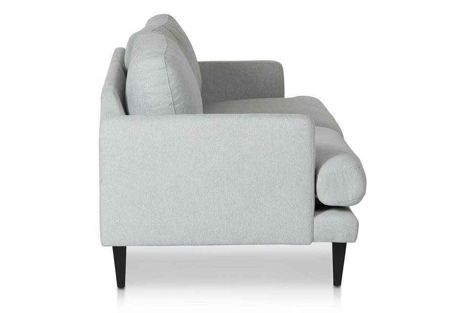 Fremont Light Blue  Fabric Sofa,  (2)