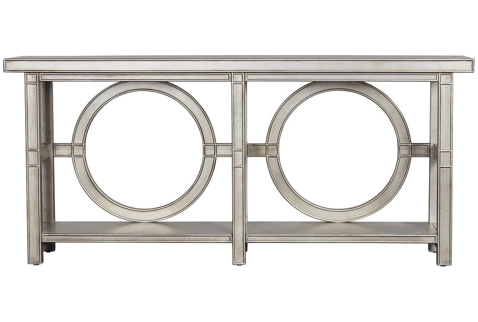 Starshine Silver Console Table