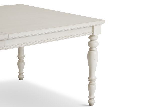 Savannah Ivory Rectangular Table