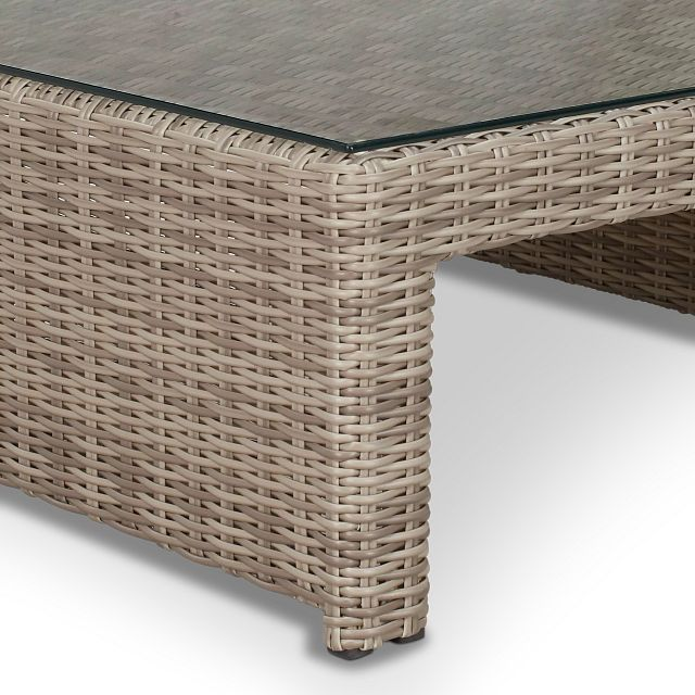 Raleigh Gray Rect Coffee Table (3)