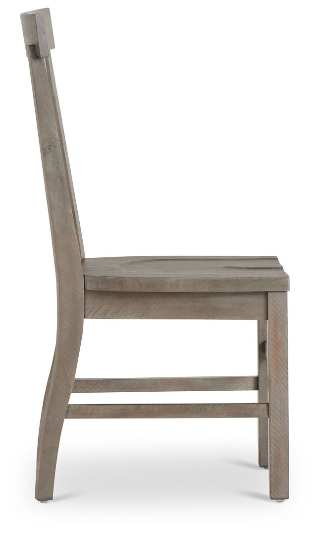 Sonoma Light Tone Wood Side Chair (2)