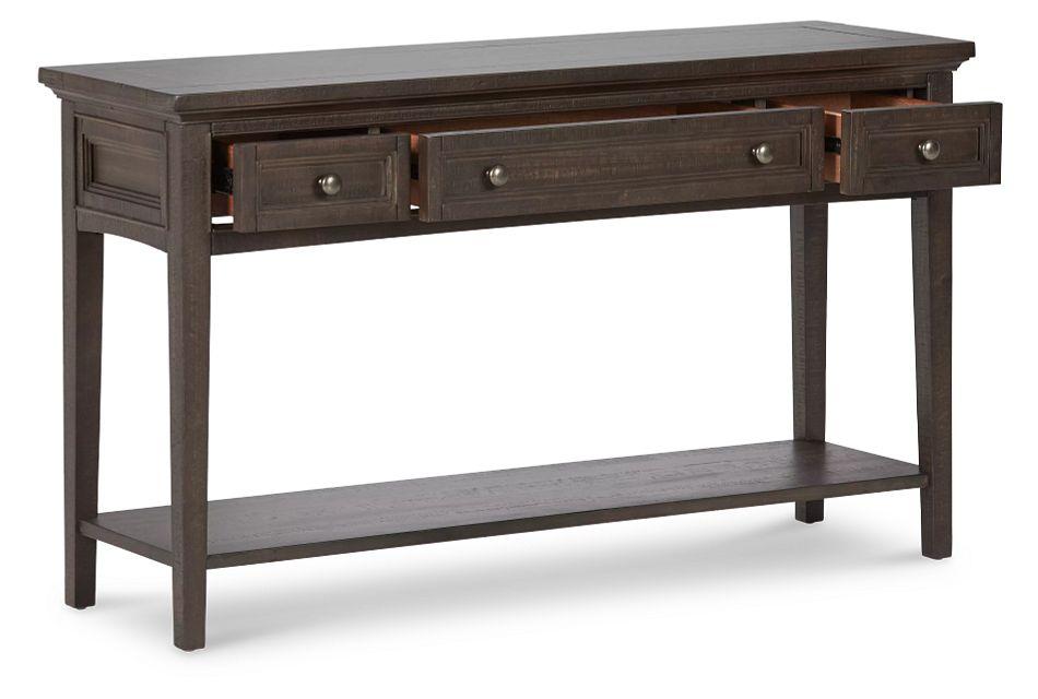 Heron Cove Dark Tone Sofa Table,  (3)