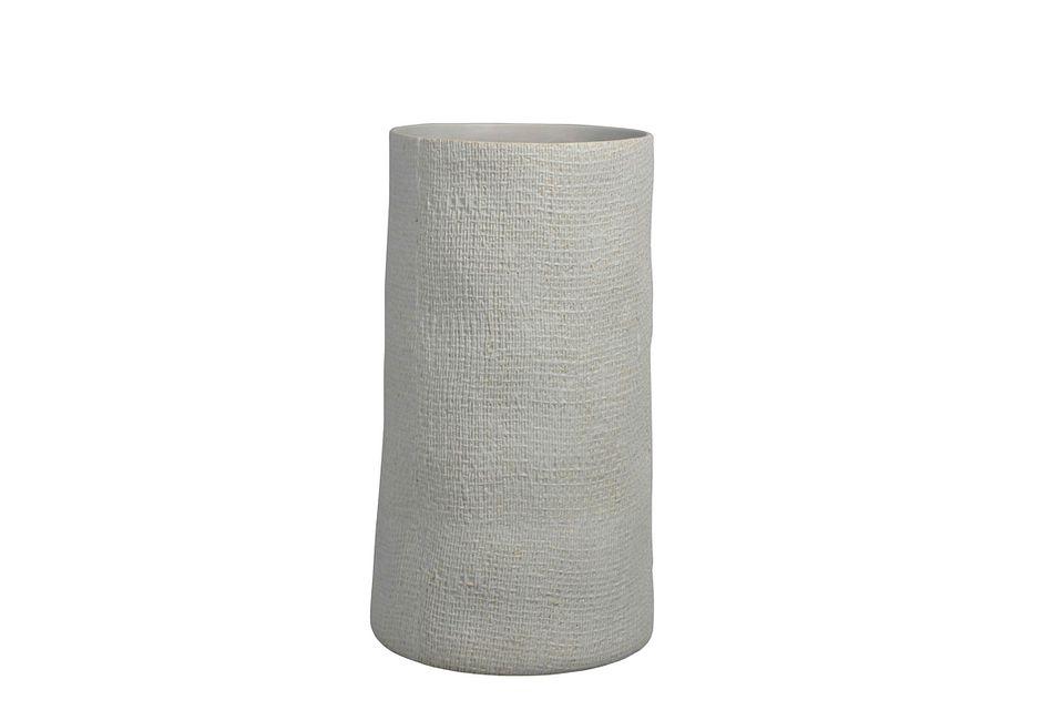 Waxen Light Gray Vase