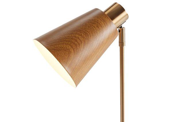 June Gold Wood Table Lamp (3)