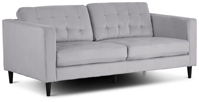 Shae Light Gray Micro Sofa (2)