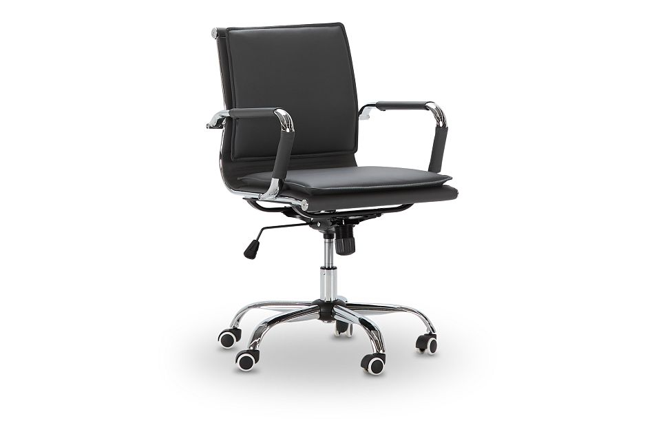 Denver Gray Uph Desk Chair, %%bed_Size%% (1)