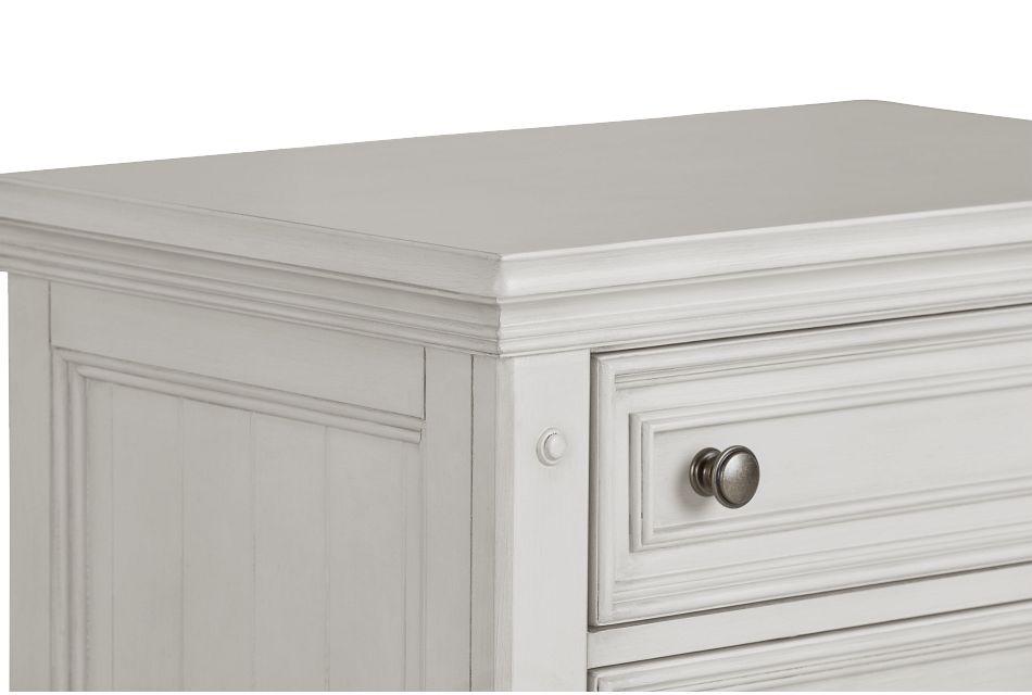 Savannah Ivory 3-drawer Nightstand