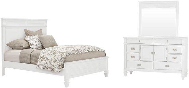 Marina White Panel Bedroom (0)
