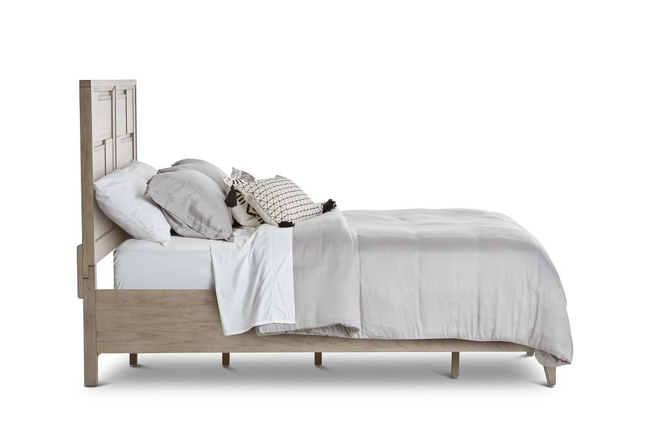 Sedona Gray Panel Storage Bed