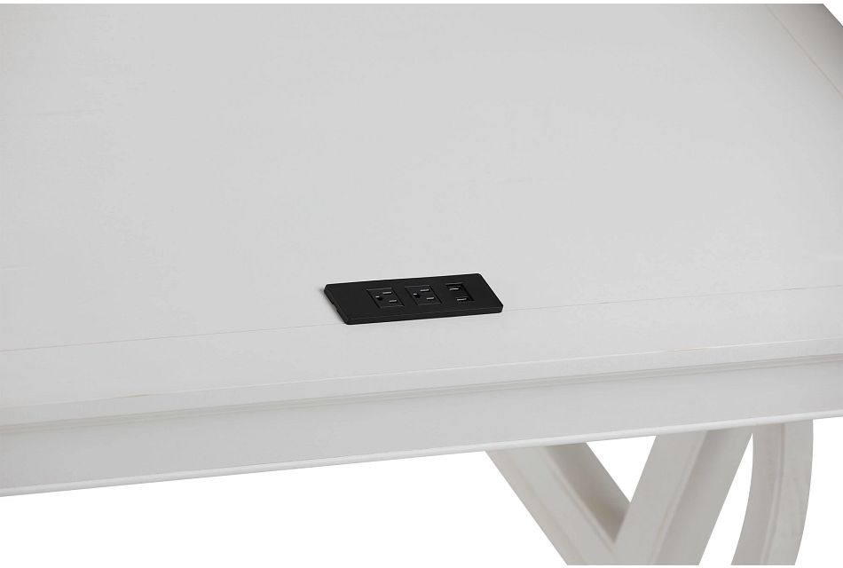 Heron Cove White Writing Desk