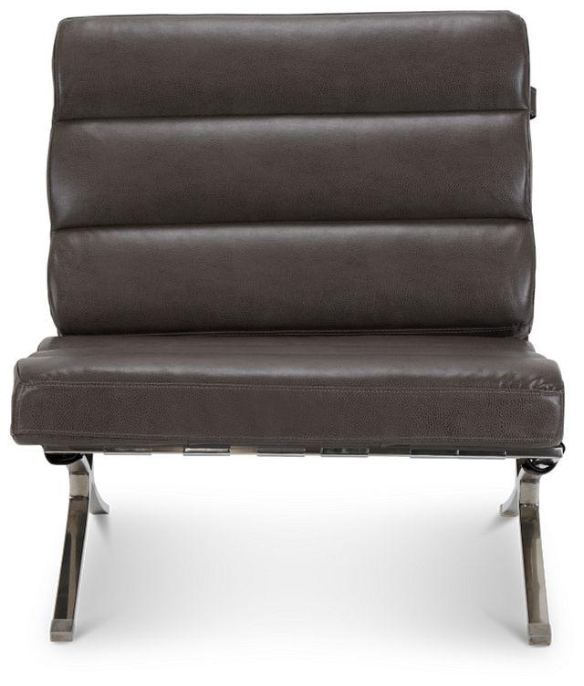Tatiana Dark Gray Micro Accent Chair (3)