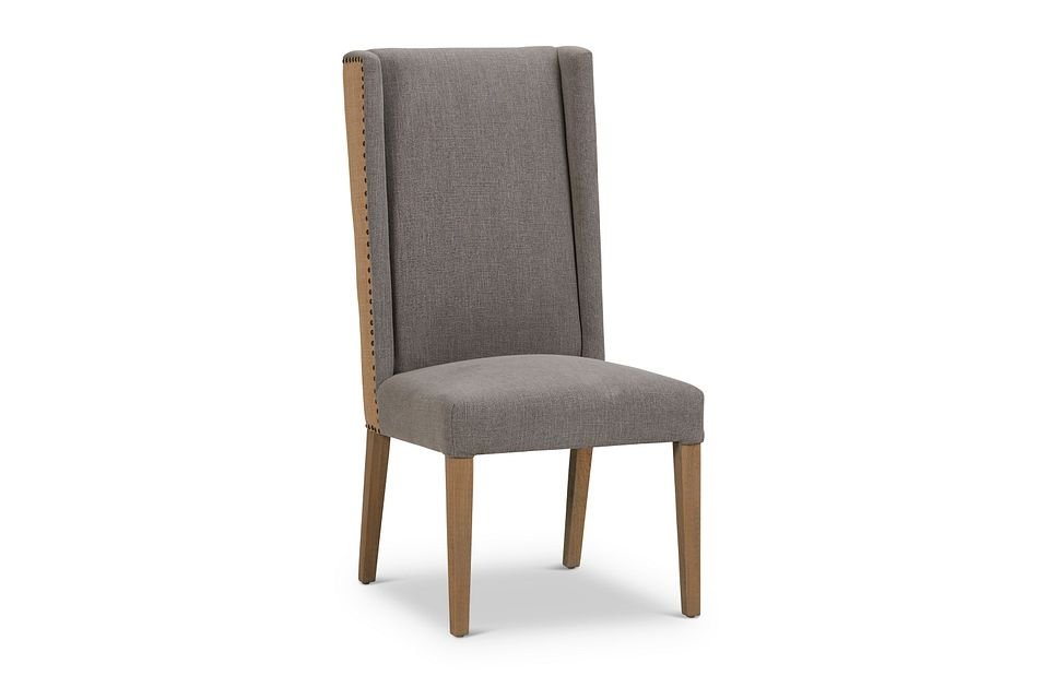 Ardee Gray Upholstered Side Chair