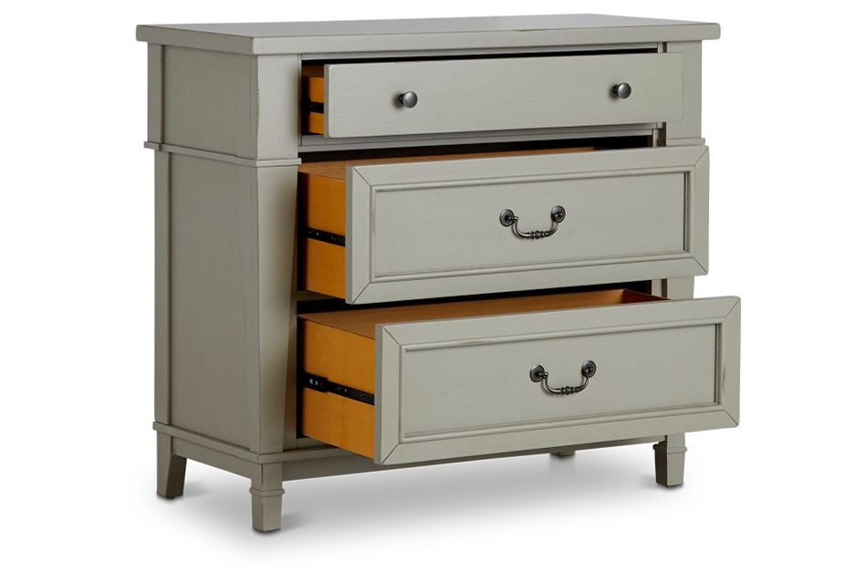 Stoney Gray Drawer Chest