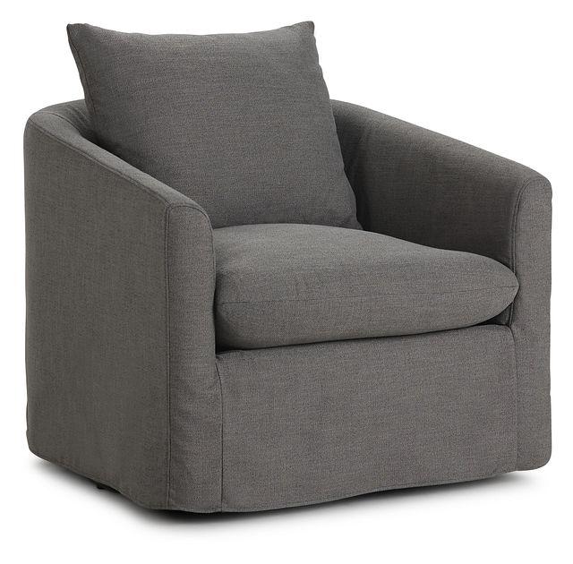 Willow Gray Fabric Swivel Chair (1)