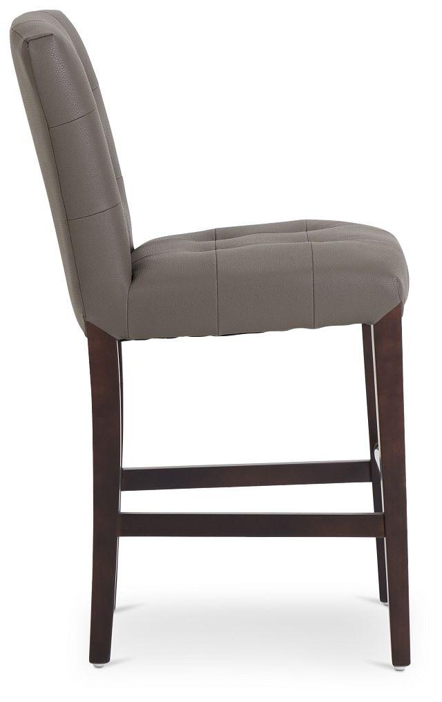 """Shelby Graymicro 24"""" Upholstered Barstool (2)"""