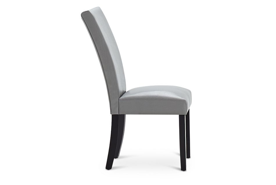 Auburn Gray Upholstered Side Chair, %%bed_Size%% (1)