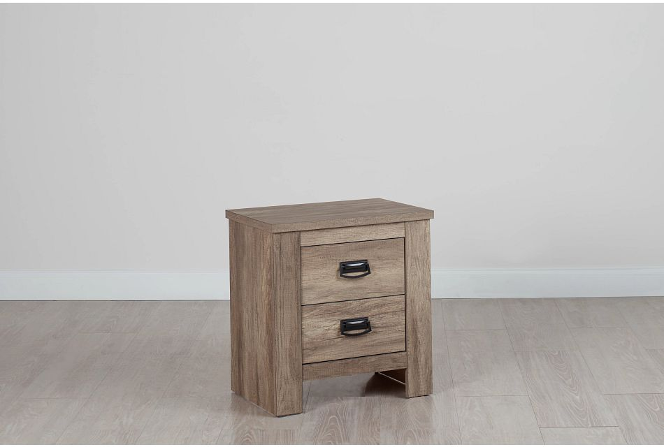 Shelton Light Tone Nightstand