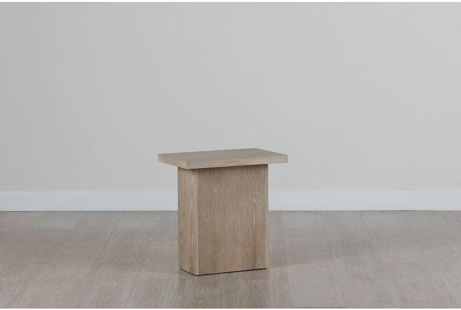 Boca Grande Light Tone Chairside Table