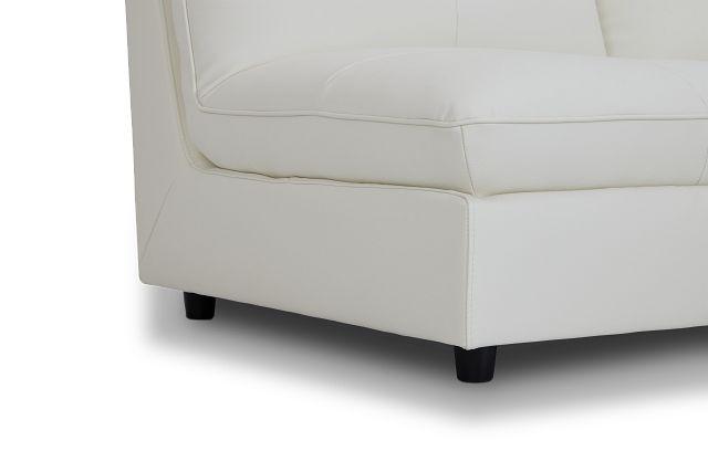 Hudson White Micro 4-piece Modular Sectional