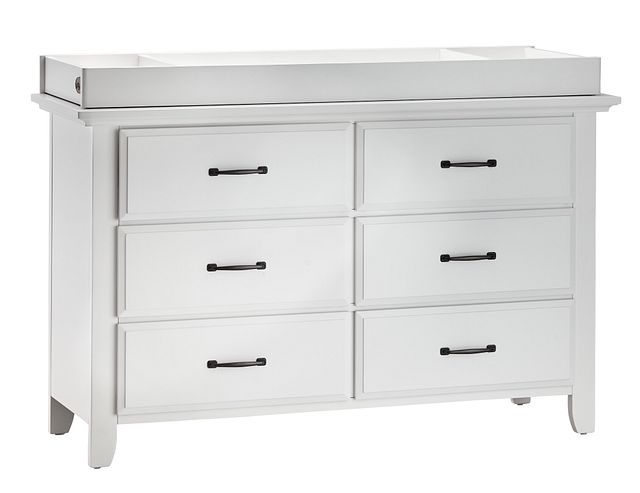 Willowbrook White Dresser With Changing Top (1)