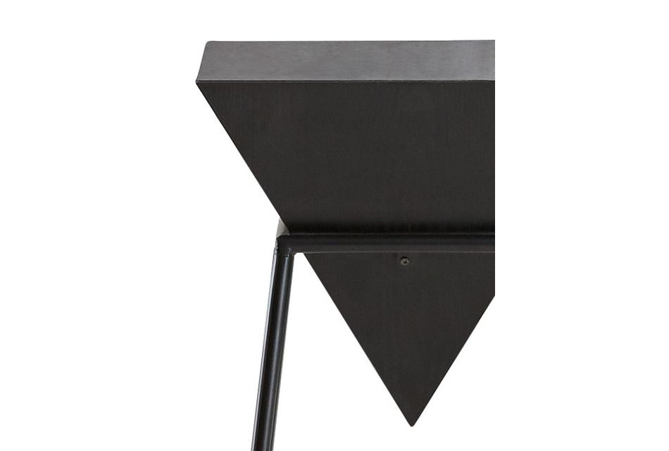 Roxy Black Accent Table