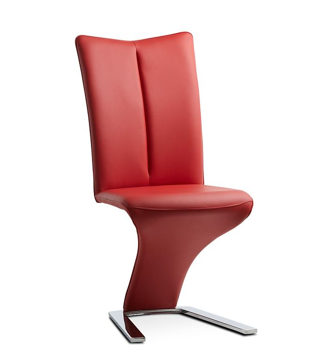 Catalina Red Upholstered Side Chair (0)