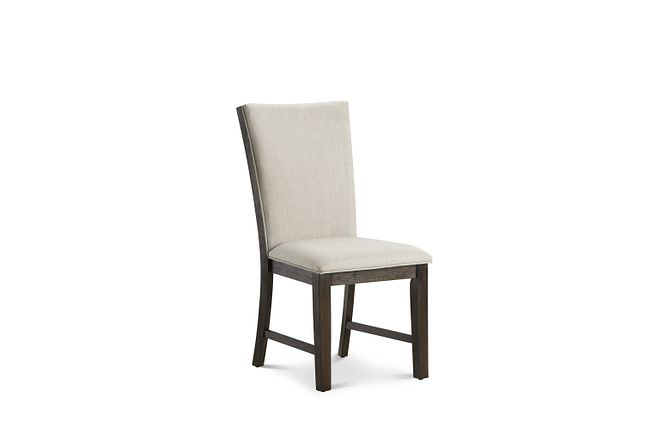 Grady Beige Upholstered Side Chair