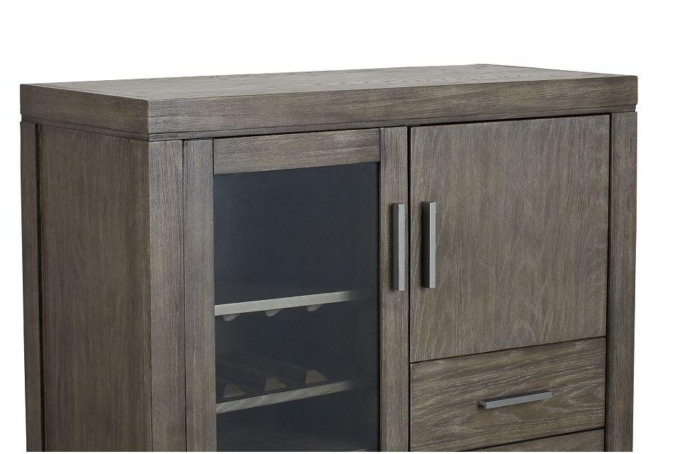 Bravo Dark Tone Bar Cabinet
