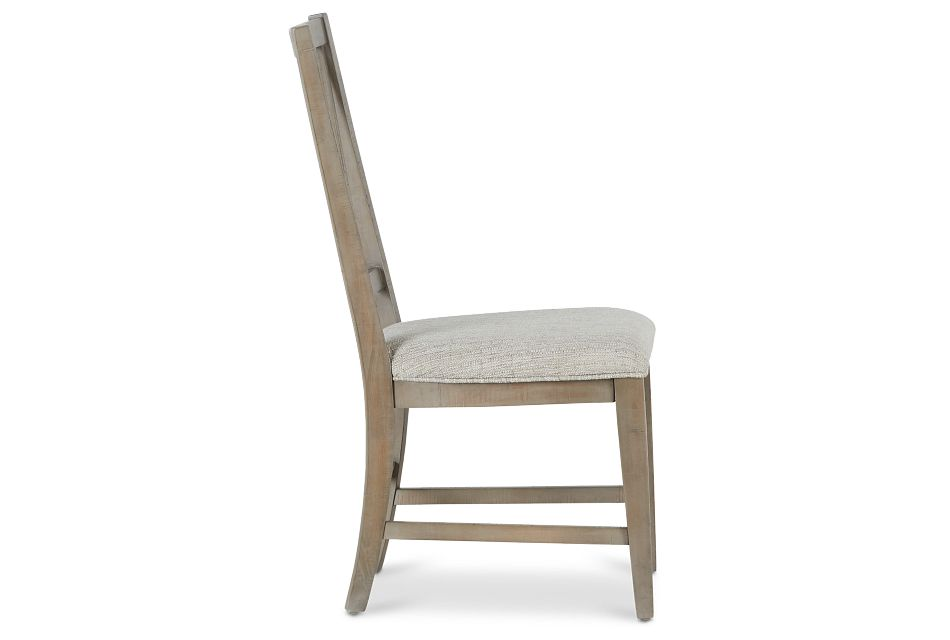 Heron Cove Light Tone Upholstered Side Chair,  (2)