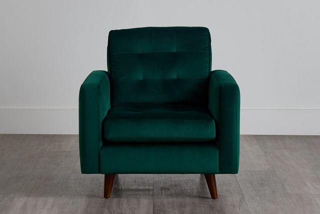 Joya Green Velvet Chair (0)