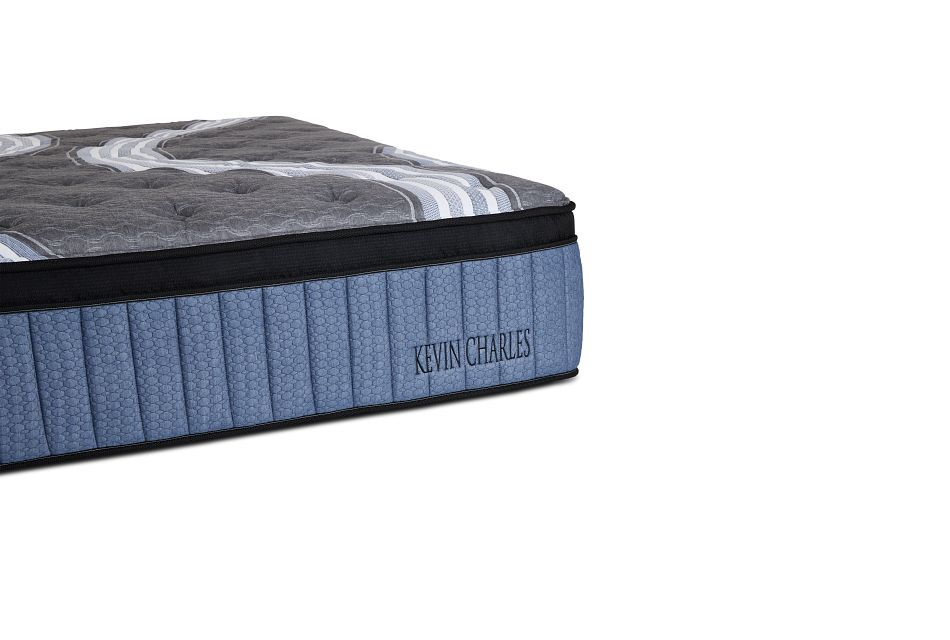 """Kevin Charles Winter Haven Lux Plush Luxury Plush 15.25"""" Euro Top Mattress, Queen (1)"""