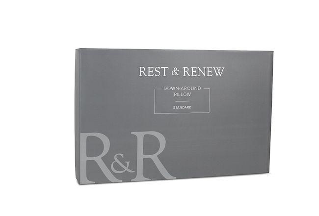 Rest & Renew Down Around Side Sleeper Pillow