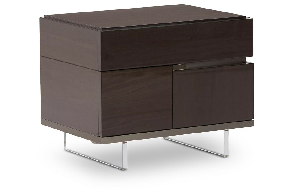 Athena Dark Gray Right Nightstand