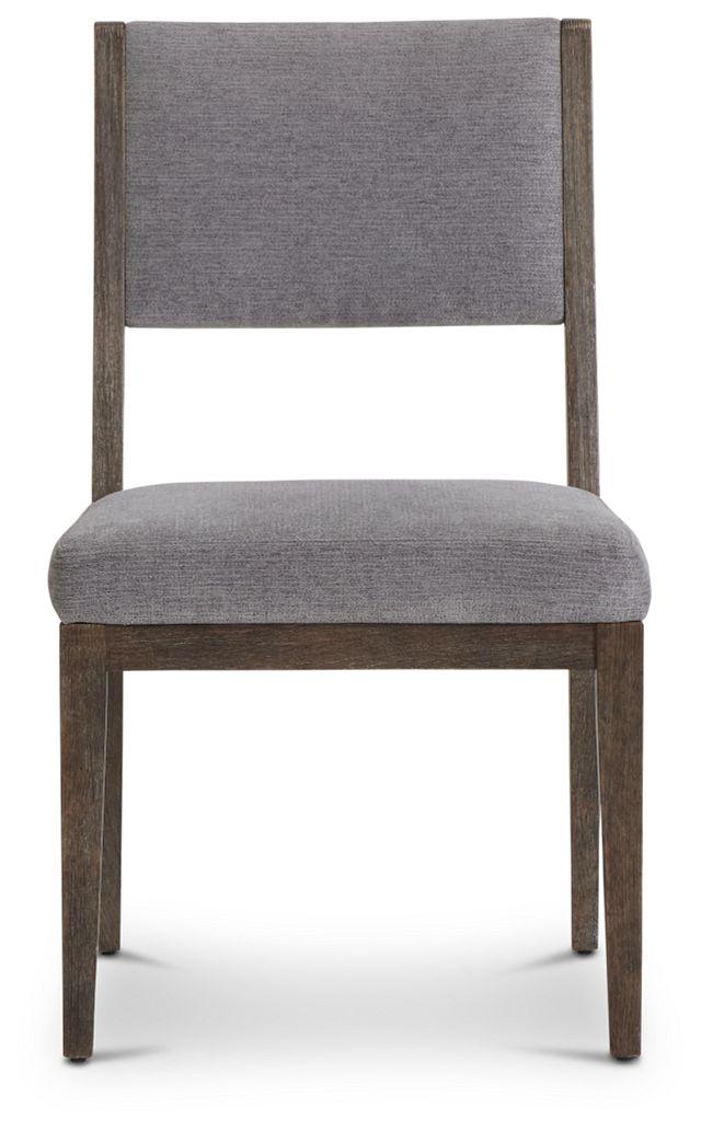 Linea Dark Tone Side Chair (3)