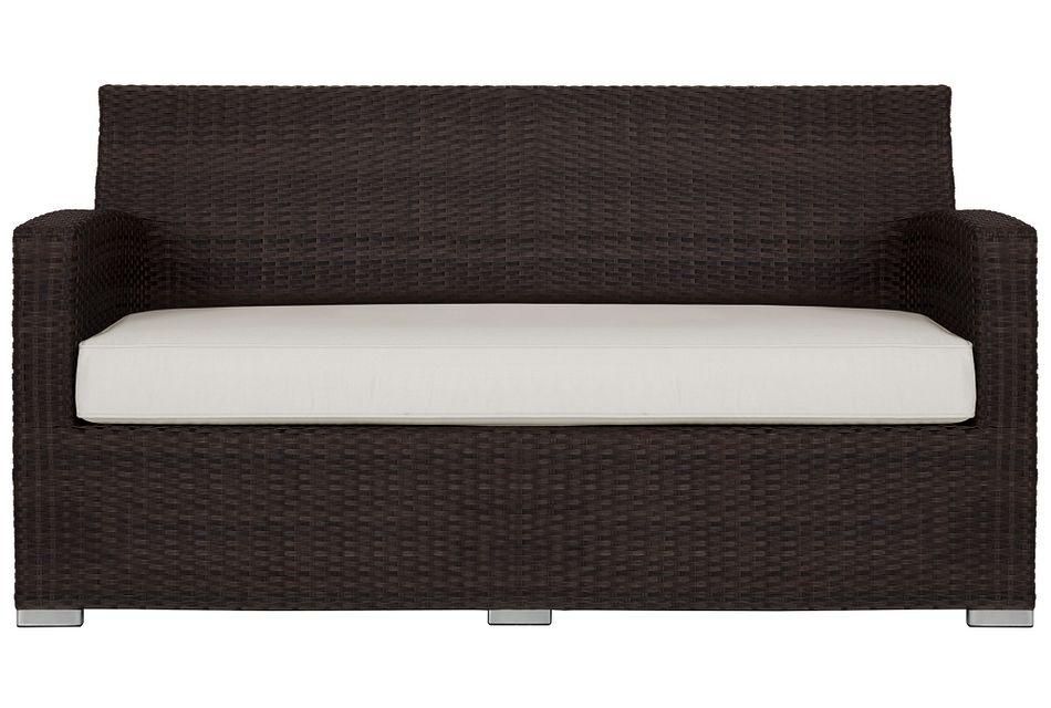 Grate White Sofa,