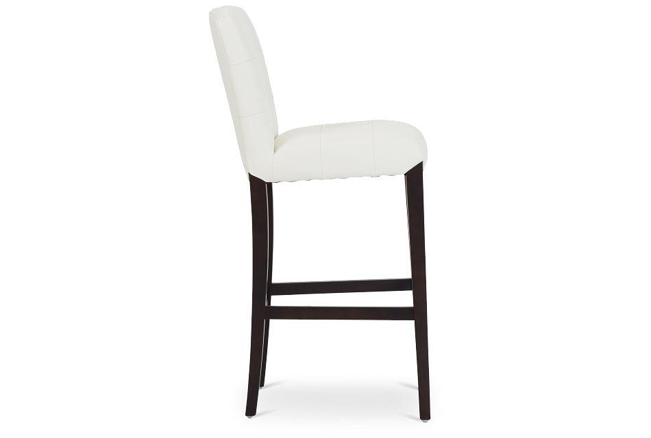 """Shelby Whitemicro 30"""" Upholstered Barstool,  (2)"""
