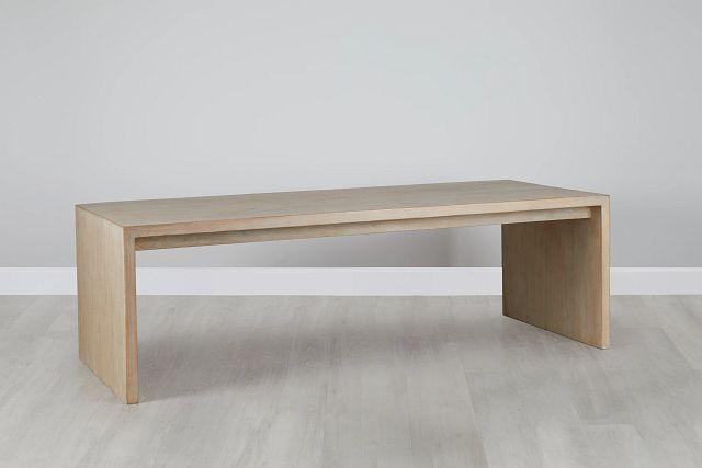 Merwin Light Tone Wood Rectangular Table (0)