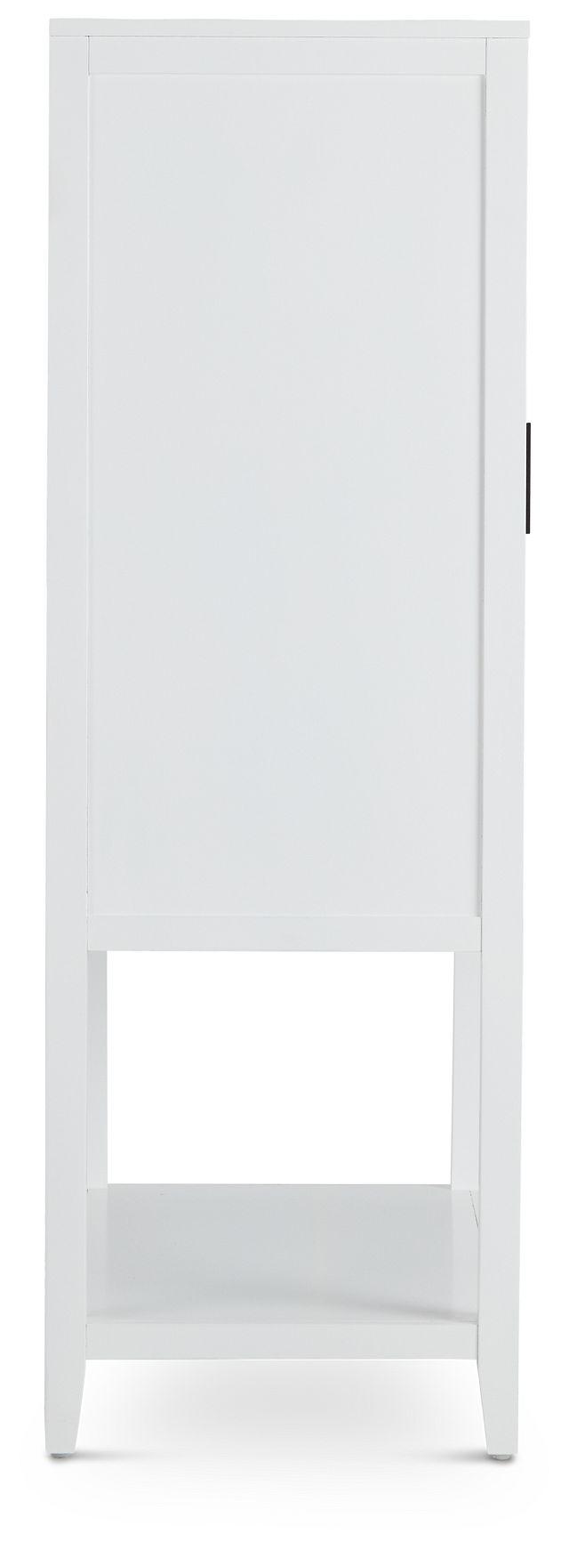 Nantucket Two-tone Woven Bar Cabinet (3)