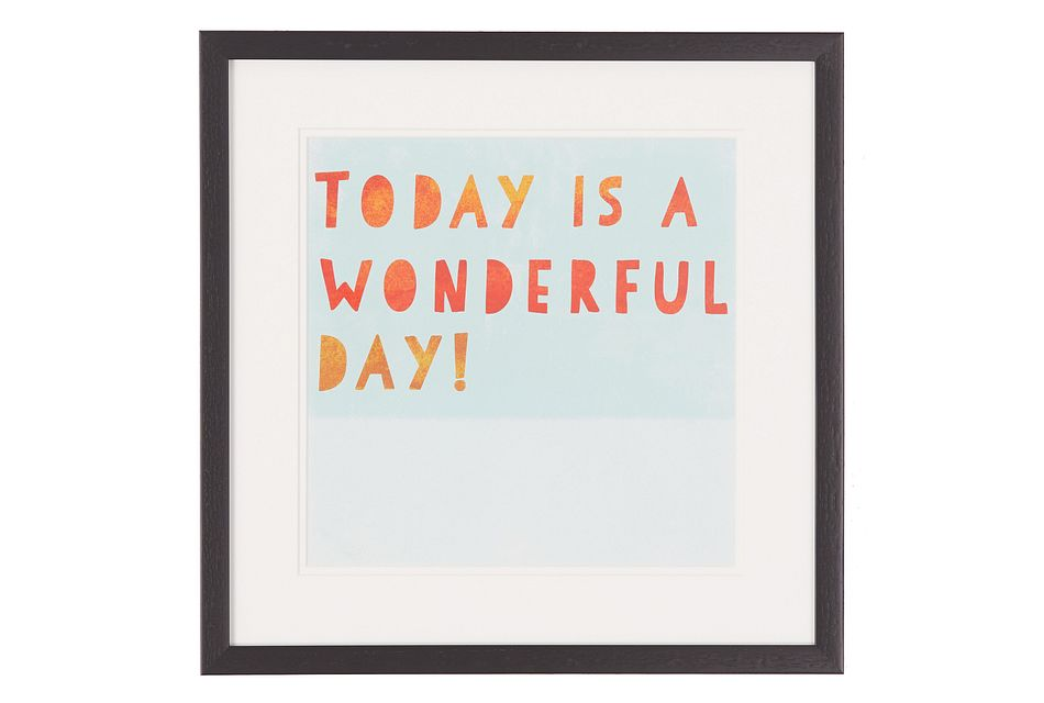 Wonder Multicolored Framed Wall Art