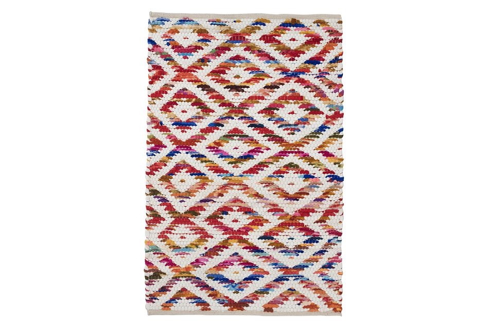 Narin Multicolored 2x3 Area Rug