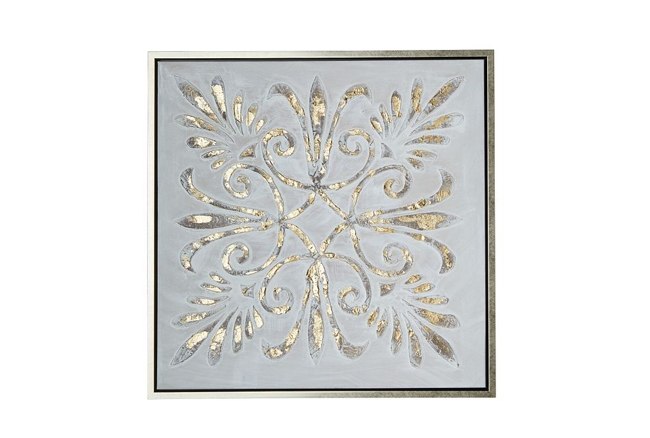 Eurdora Gold Framed Wall Art