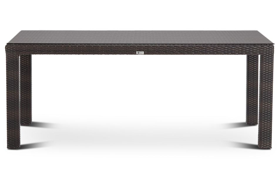 "Zen Dark Tone 72"" Rectangular Table"